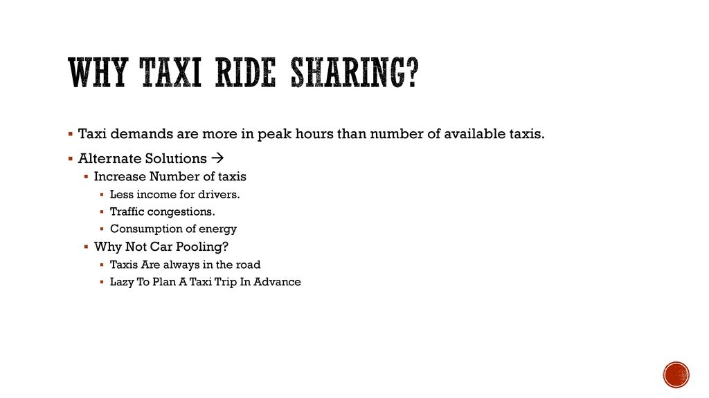 Real-Time City-Scale Taxi Ridesharing - ppt download