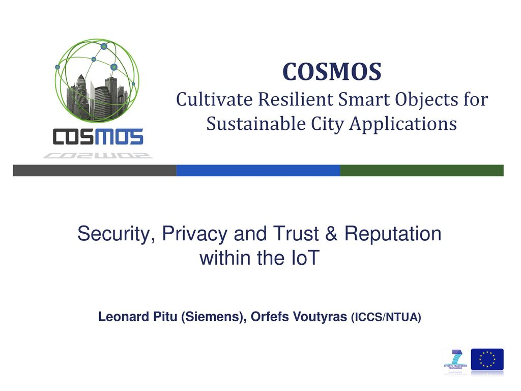 Leonard Pitu (Siemens), Orfefs Voutyras (ICCS/NTUA) - ppt download