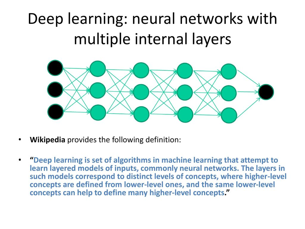 deep learning a.k.o. neural network. - ppt download