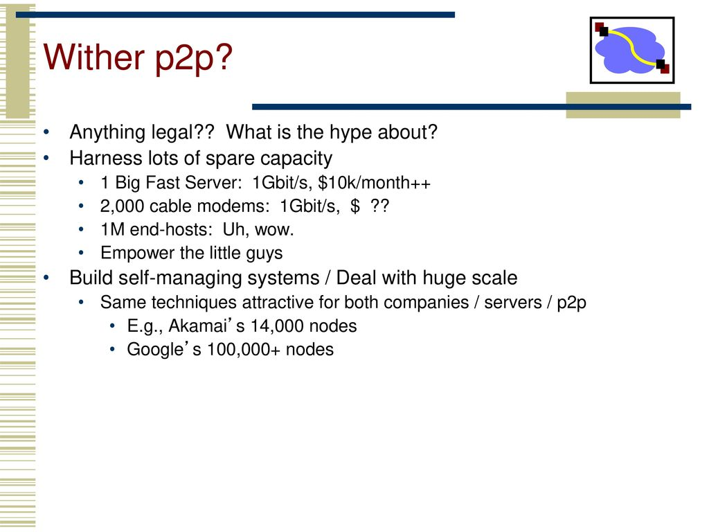 some slides from D  Anderson, K  Harras and others) - ppt