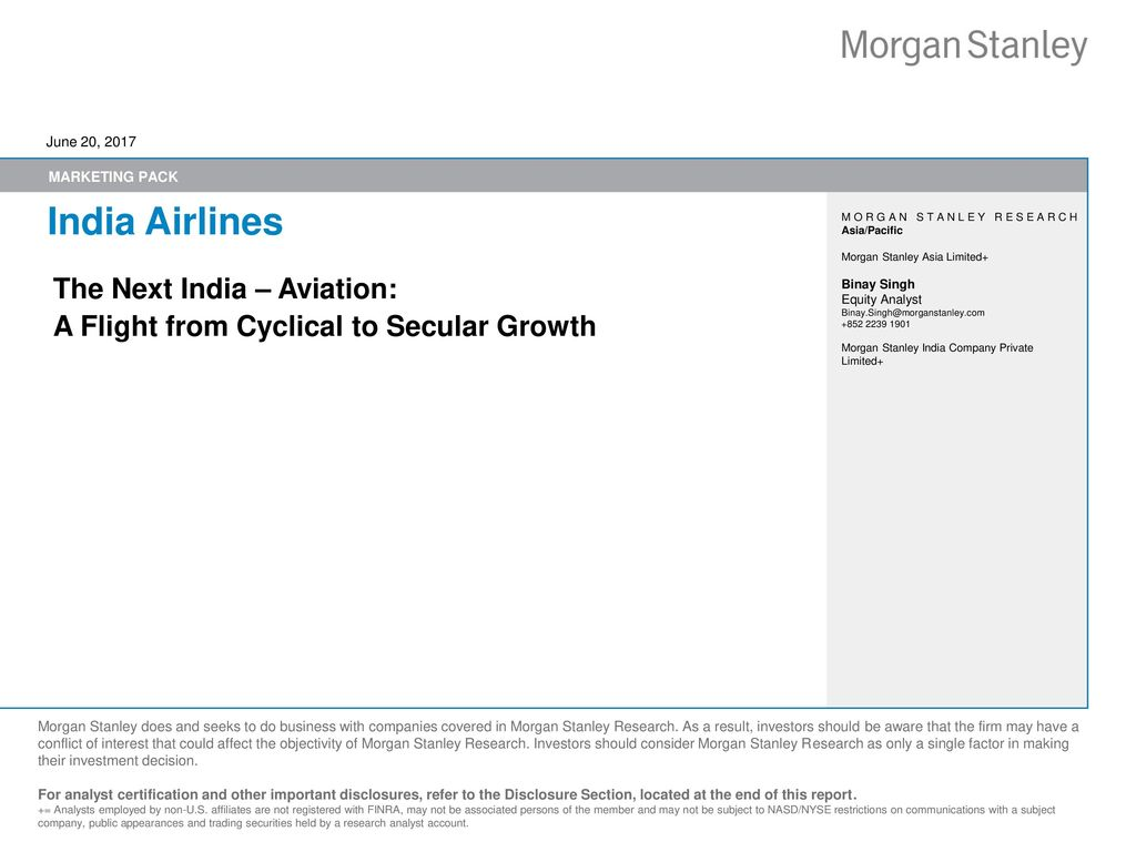 India Airlines The Next India – Aviation: - ppt download
