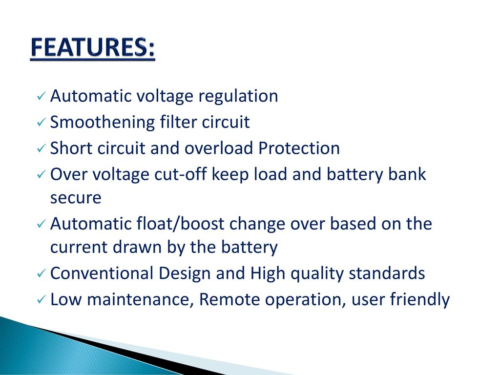 Vmcl Electronic Division Ppt Download 48v Solar Battery Charger Circuit With High Low Cutoff Features Automatic Voltage Regulation Smoothening Filter 6 Application