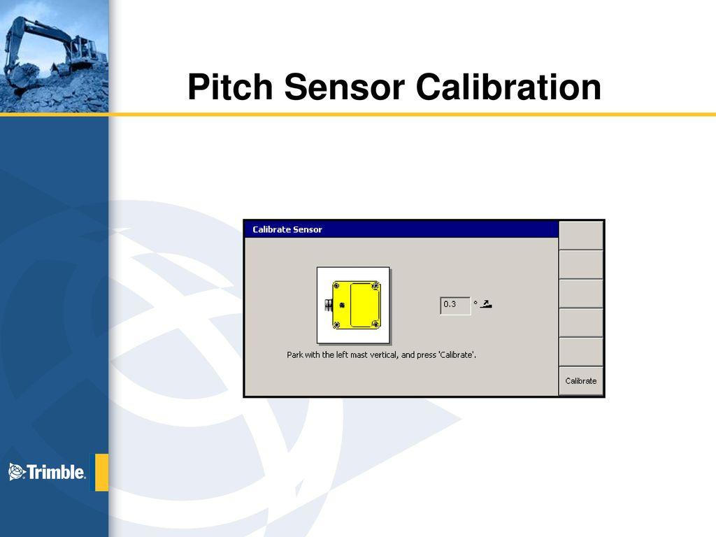 Dozer Sensors Calibration And Hydraulic Ppt Download Nokia 9300 Service Manual 4 Pitch Sensor