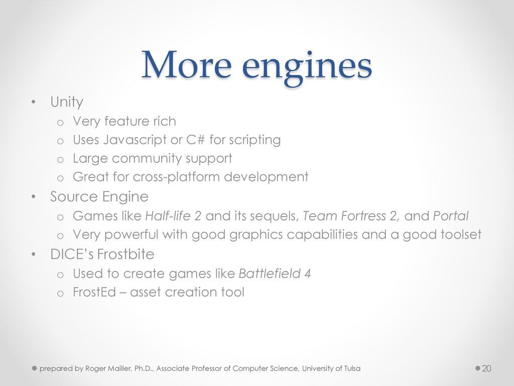 Game Engine Architecture - ppt video online download