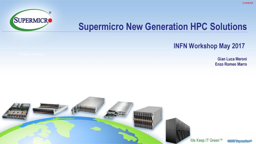 Supermicro New Generation HPC Solutions - ppt download