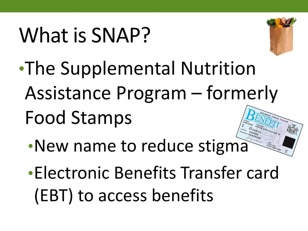 The Supplemental Nutrition Assistance Program In New York State