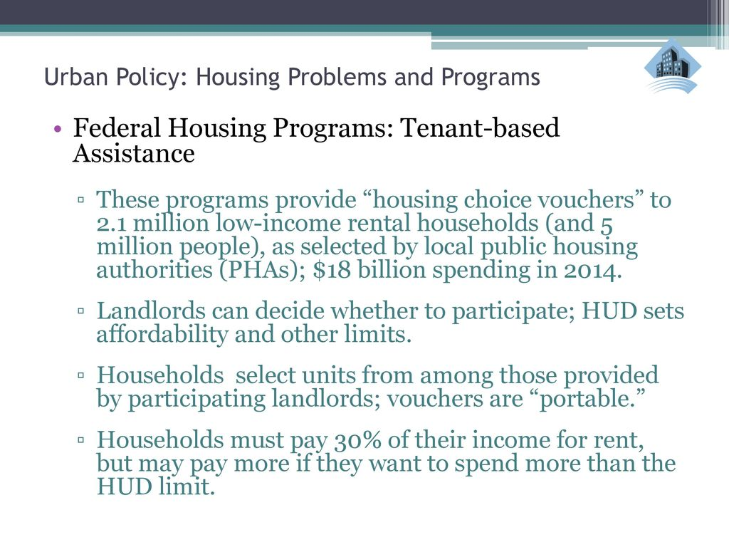 Federal Housing Grants for Individuals