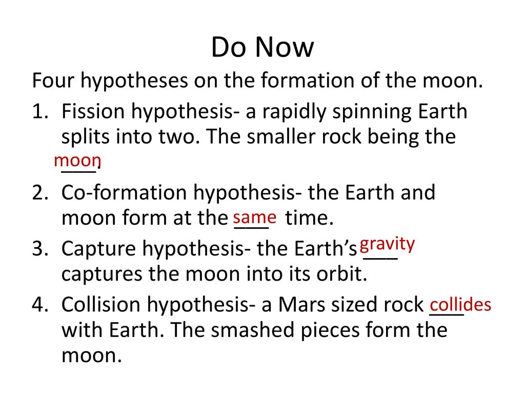 capture hypothesis