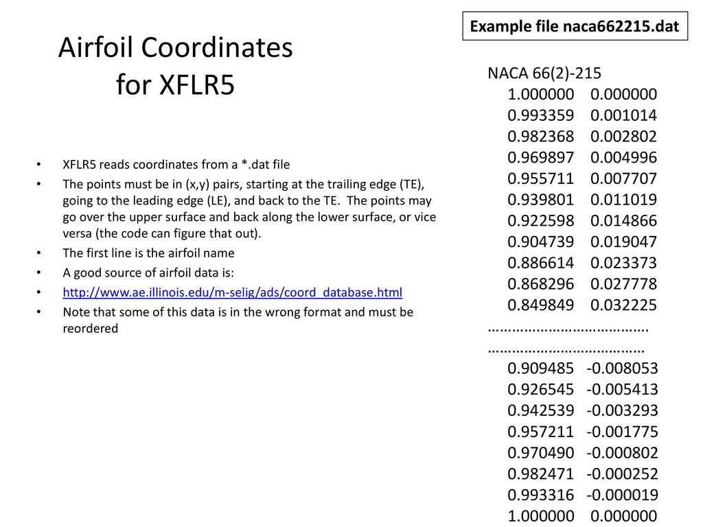 XFLR5 Airfoil, Wing and Plane Analysis - ppt video online