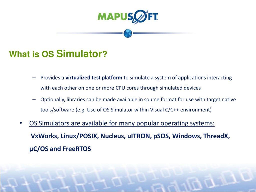 RTOS Lab on your Desktops - ppt download