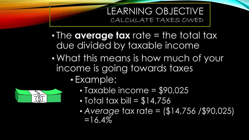 Federal Income tax  - ppt download