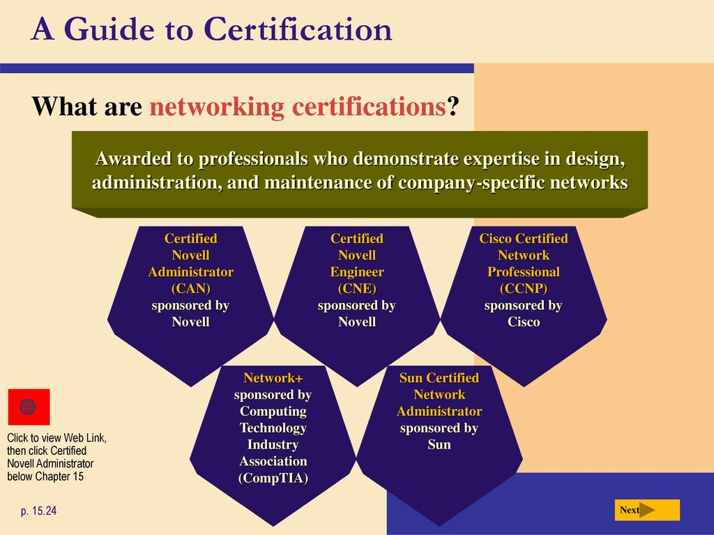 Chapter 15 Computer Careers And Certification Ppt Download