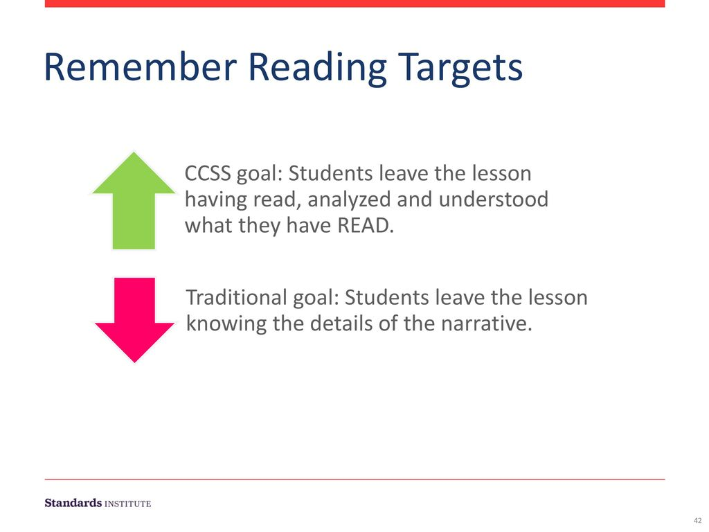 Remember Reading Targets