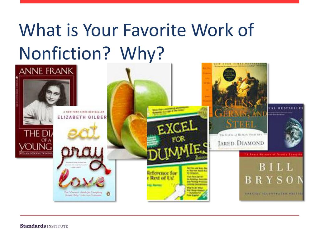 What is Your Favorite Work of Nonfiction Why
