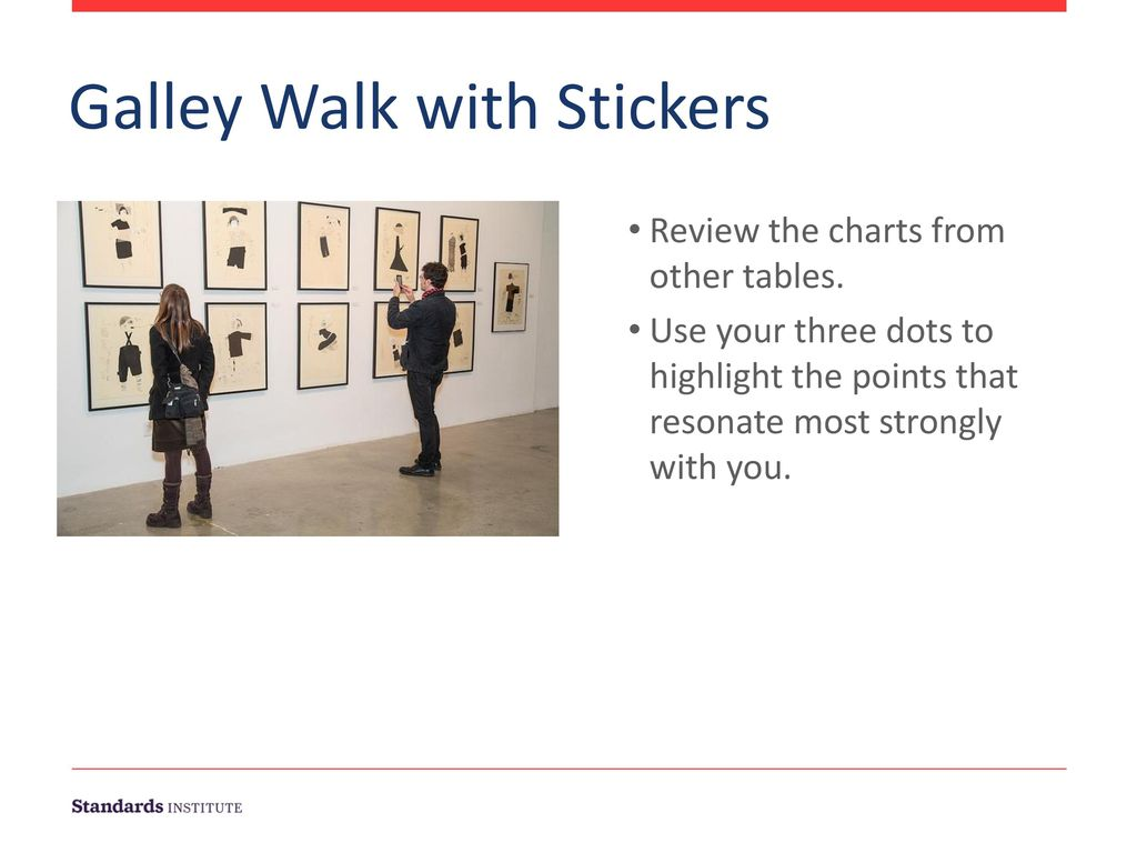 Galley Walk with Stickers