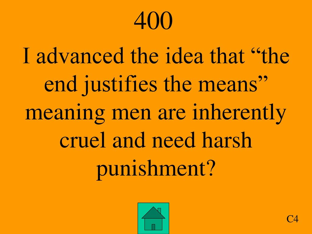 the end justifies the means meaning