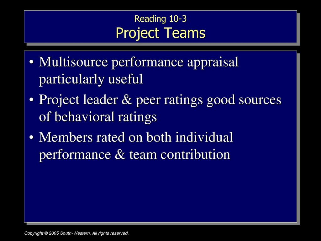 team performance appraisal Performance appraisal systems solve the review process problem—normally a formidable and cumbersome task—by making it both efficient and effective for managers and employees hr often gets bogged down with the process, and managers are often untrained in delivering effective reviews that actually impact workforce performance and help grow.