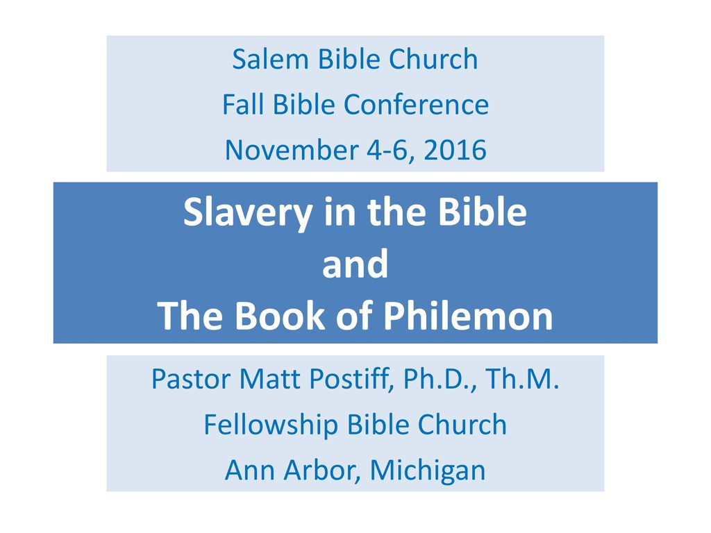who wrote philemon in the bible