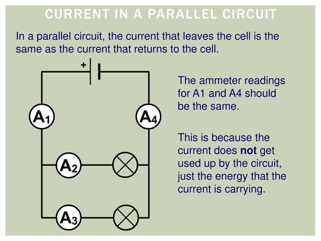 Current In A Parallel Circuit Electricity Unit 4 42 Voltage Resistance Diabrams