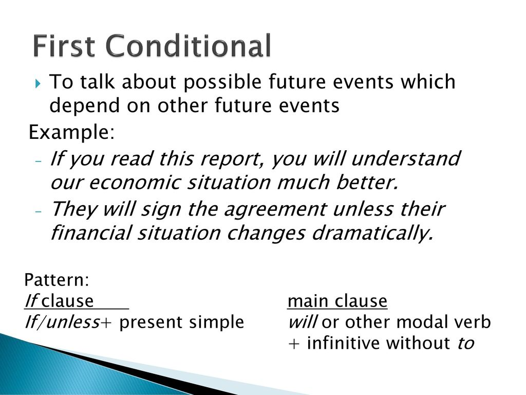 Conditionals  - ppt download