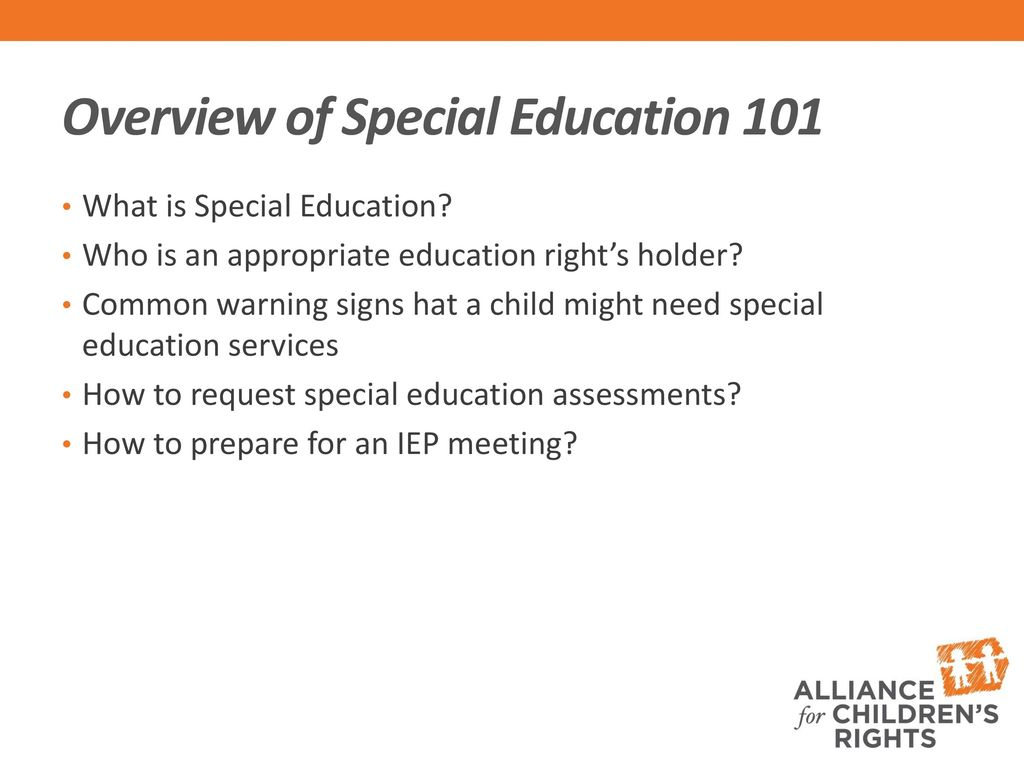 12 Warning Signs Iep Team Is Not Doing >> Understanding And How To Read Iep S Ppt Download