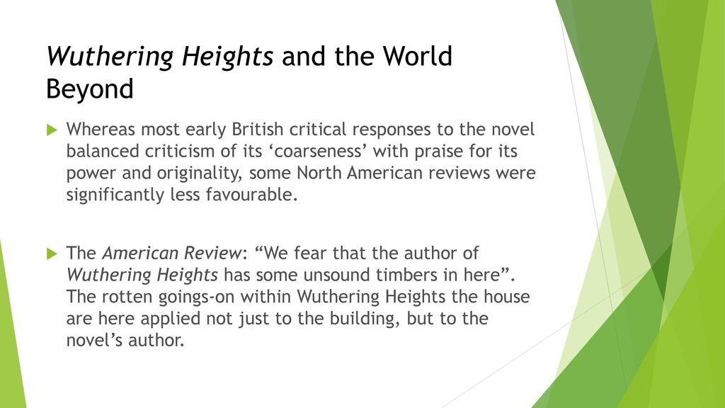 wuthering heights criticism
