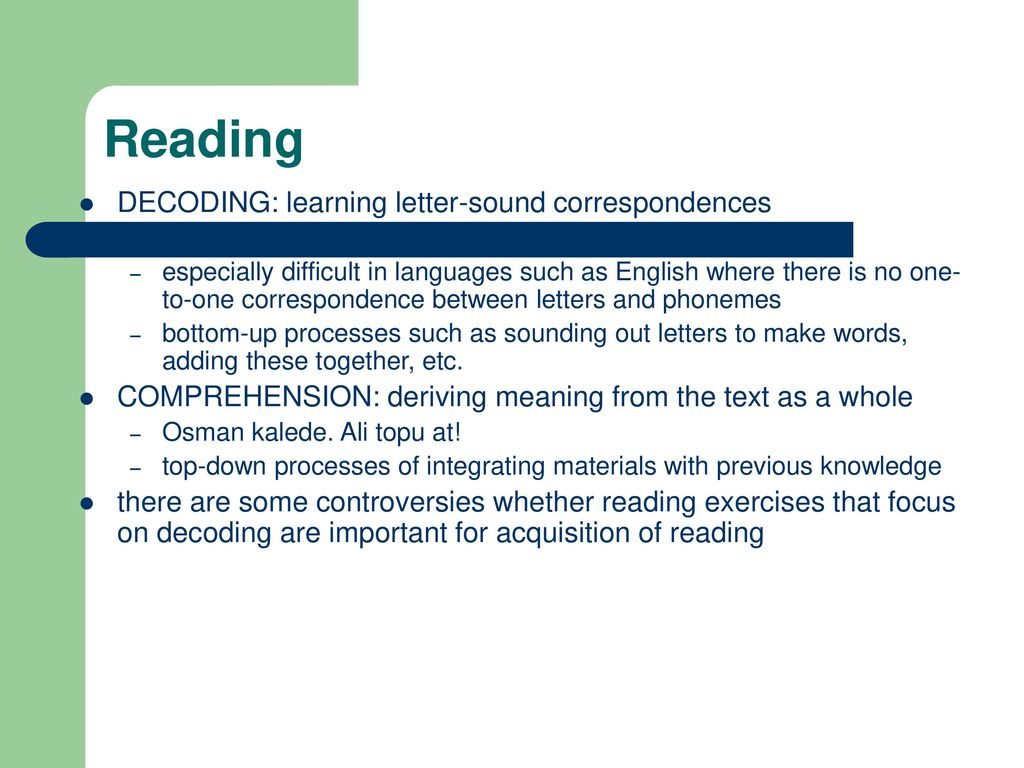 Dyslexia reading disorders ppt download 2 reading decoding ibookread
