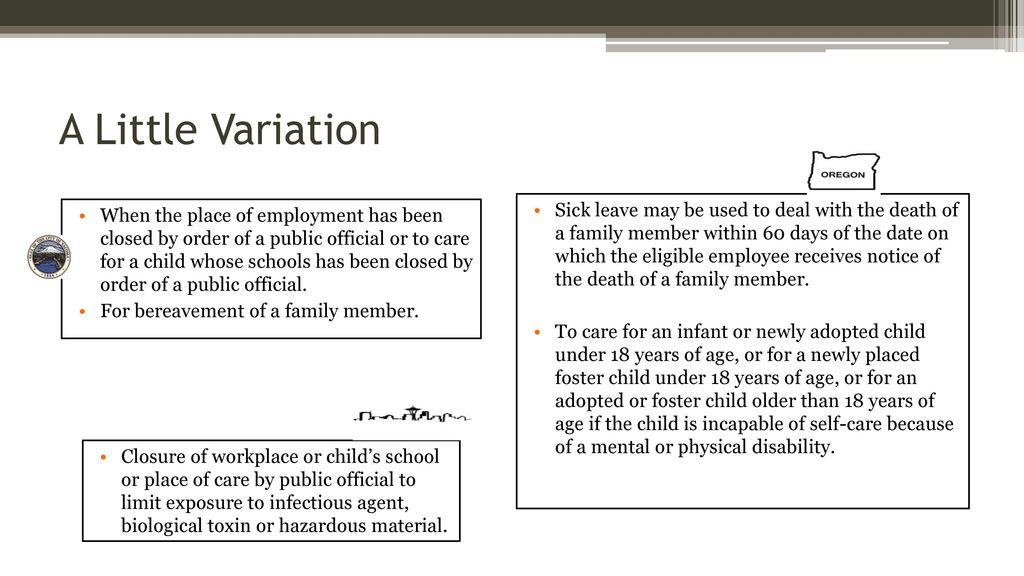 Are Safe & Sick Leave Policies Making you Ill? - ppt download