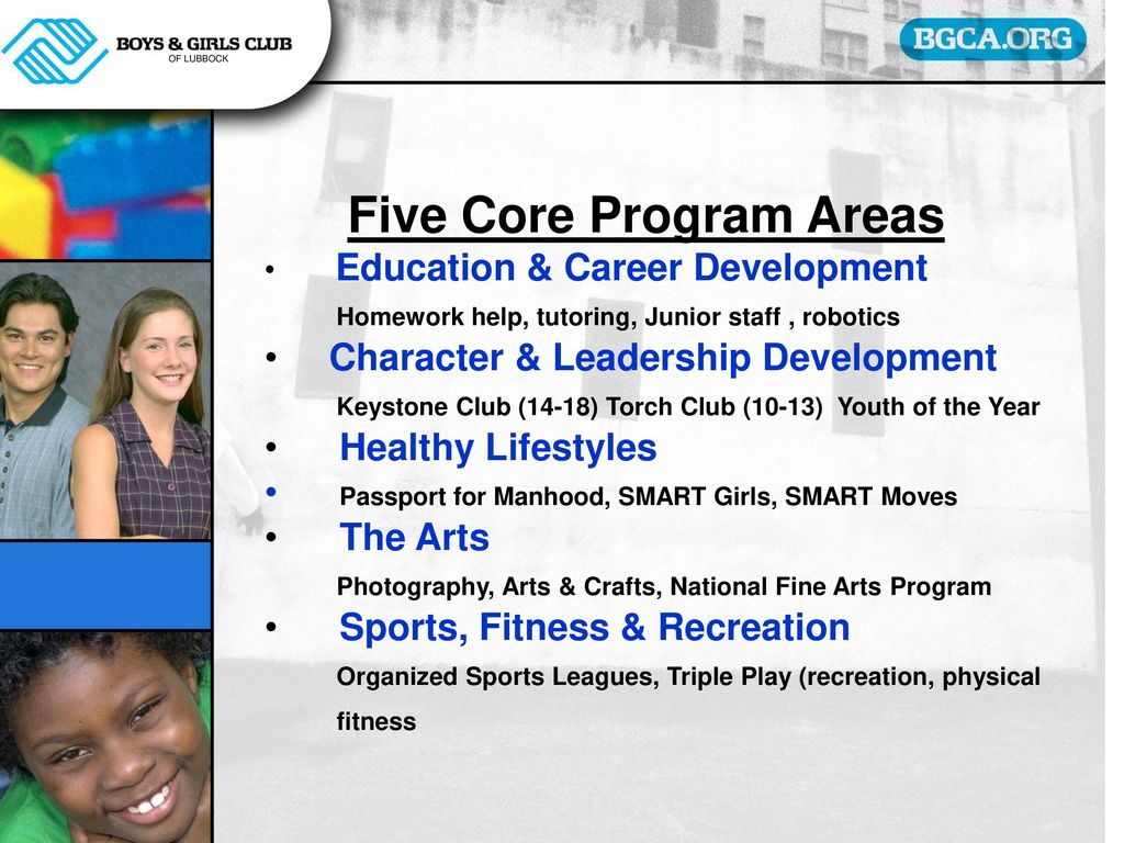 LUBBOCK BOYS & GIRLS CLUBS - ppt download