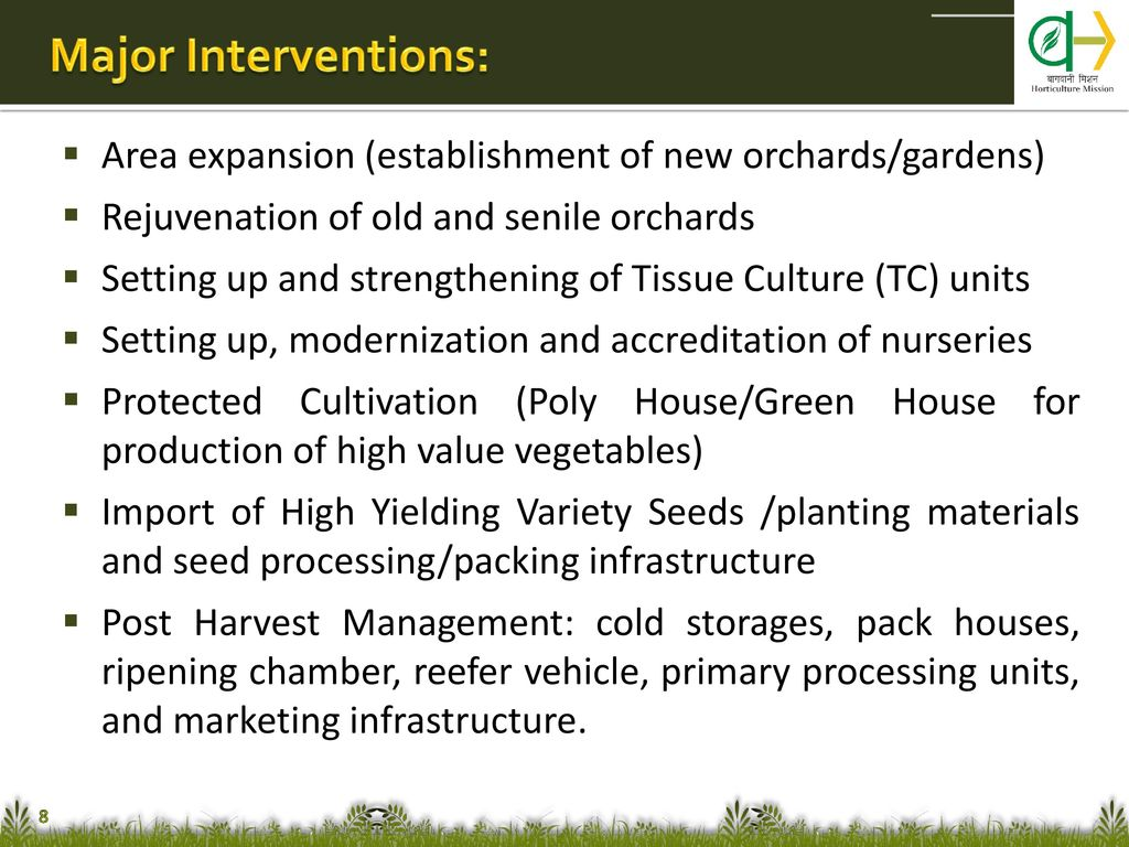 Issues in Horticulture - ppt download