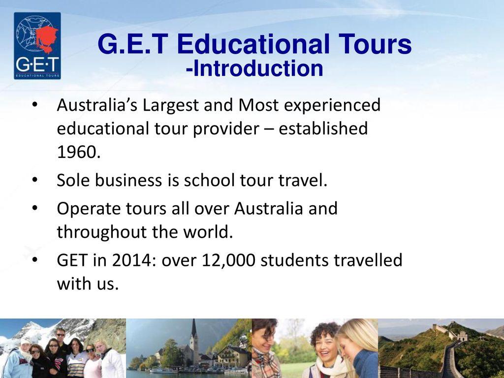 educational tour introduction