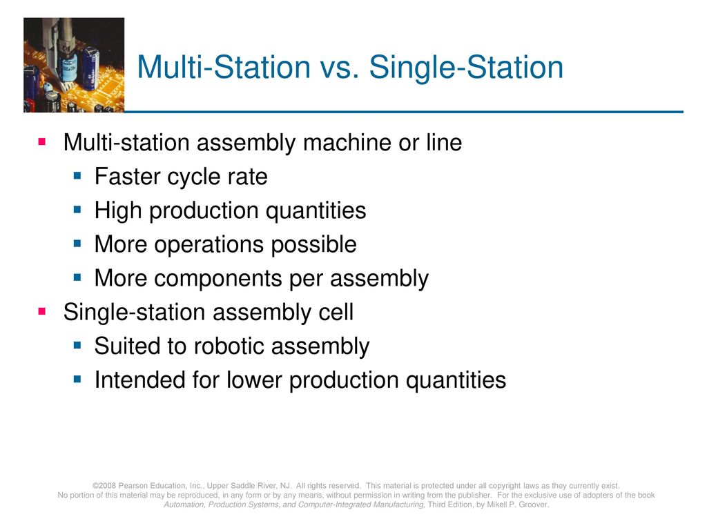 Multi-Station vs. Single-Station