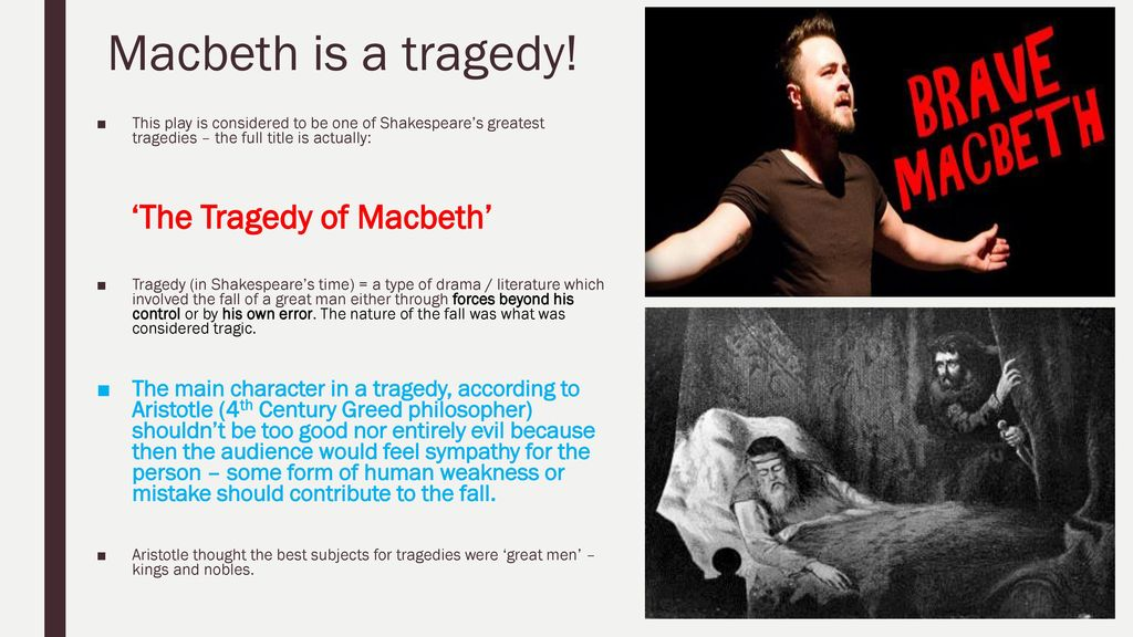 A description of macbeth as one of the greatest of shakespeares tragedies