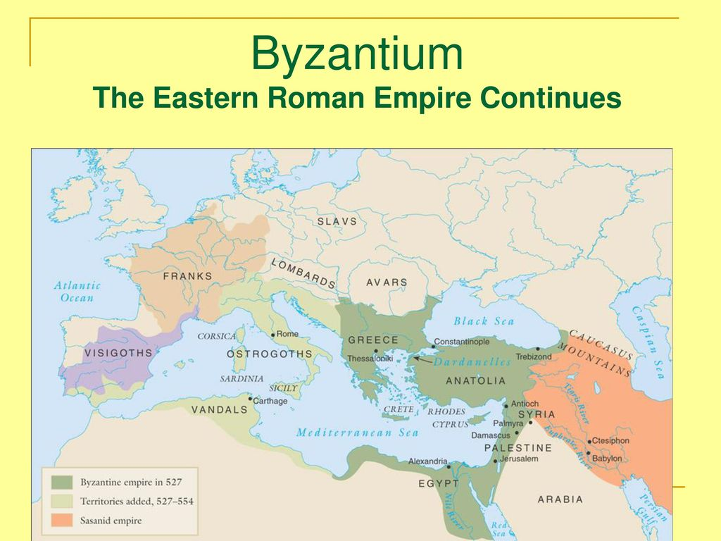 Byzantium The Eastern Roman Empire Continues Ppt Download