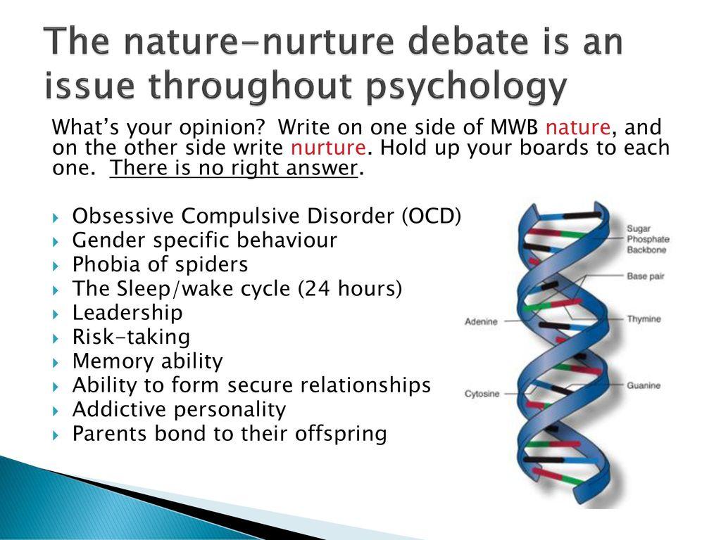 ocd nature vs nurture