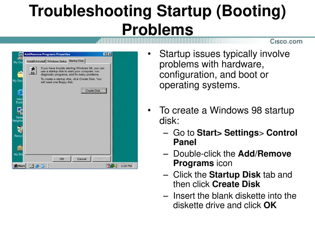 IT Essentials I v  3 1 Module 14 Troubleshooting Software