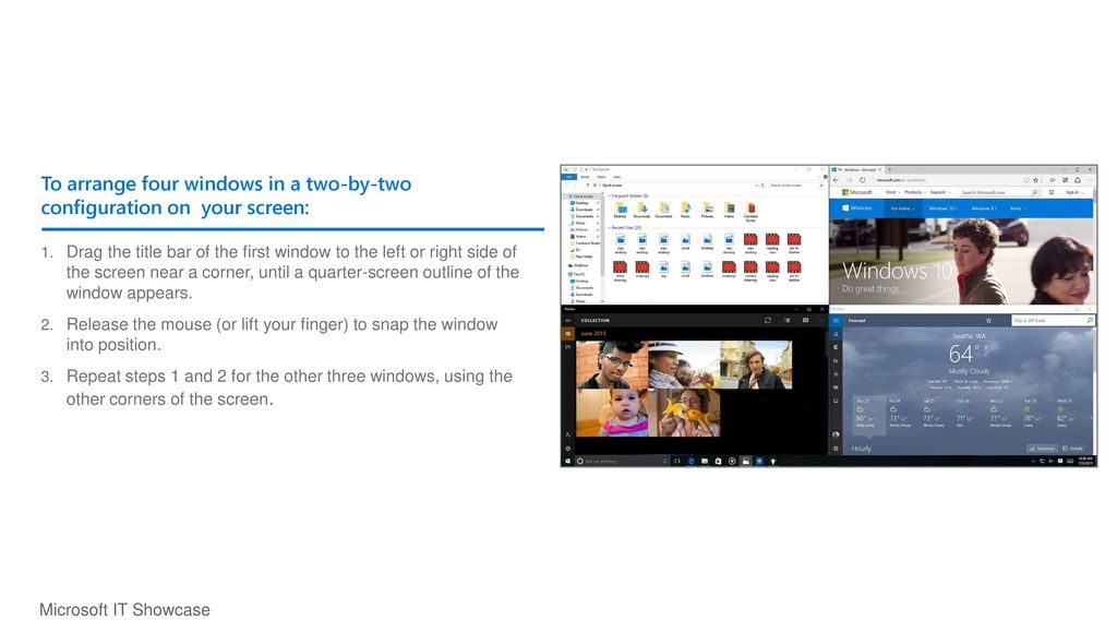 Getting to know Windows 10 for employees - ppt download
