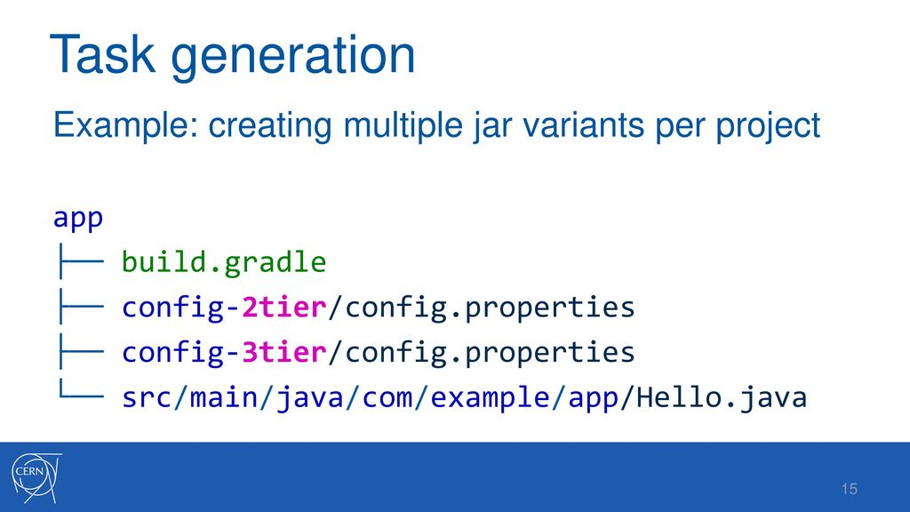 Adapting Gradle for the CERN Accelerator Control System - ppt download