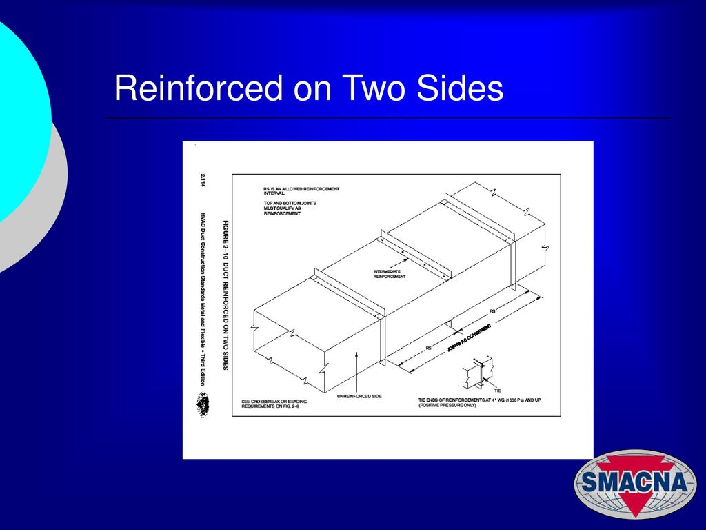 Hvac Duct Constrction Examples Ppt Download Drawing 25 Reinforced