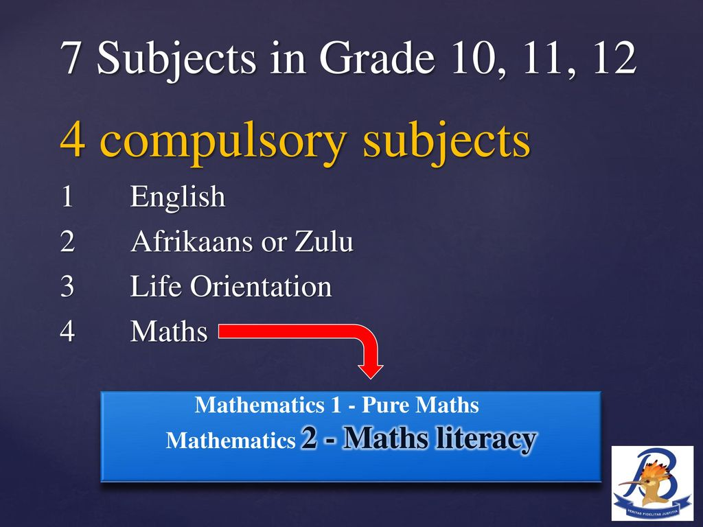 Grade 9 Subject Choice Evening - ppt download