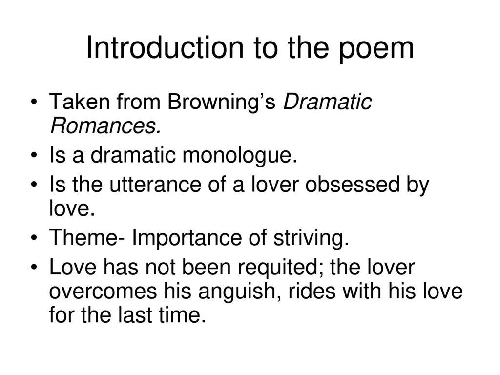 the last ride together poem