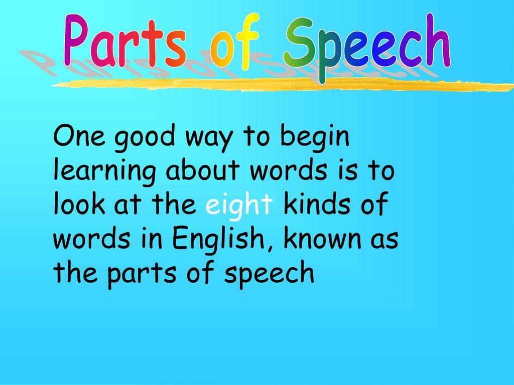 begin in english