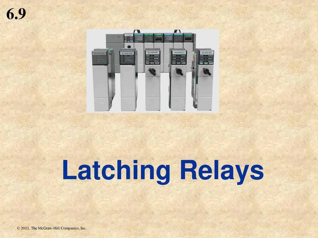 Chapter Ppt Download As Well Latching Relay Circuit Diagram Further 58 69 Relays