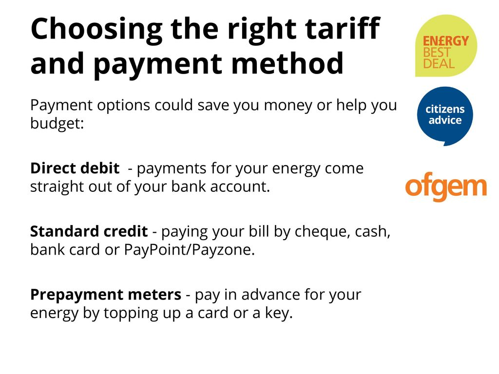 Budget Energy Top Up >> Energy Best Deal Paying For Your Gas And Electricity Can Be