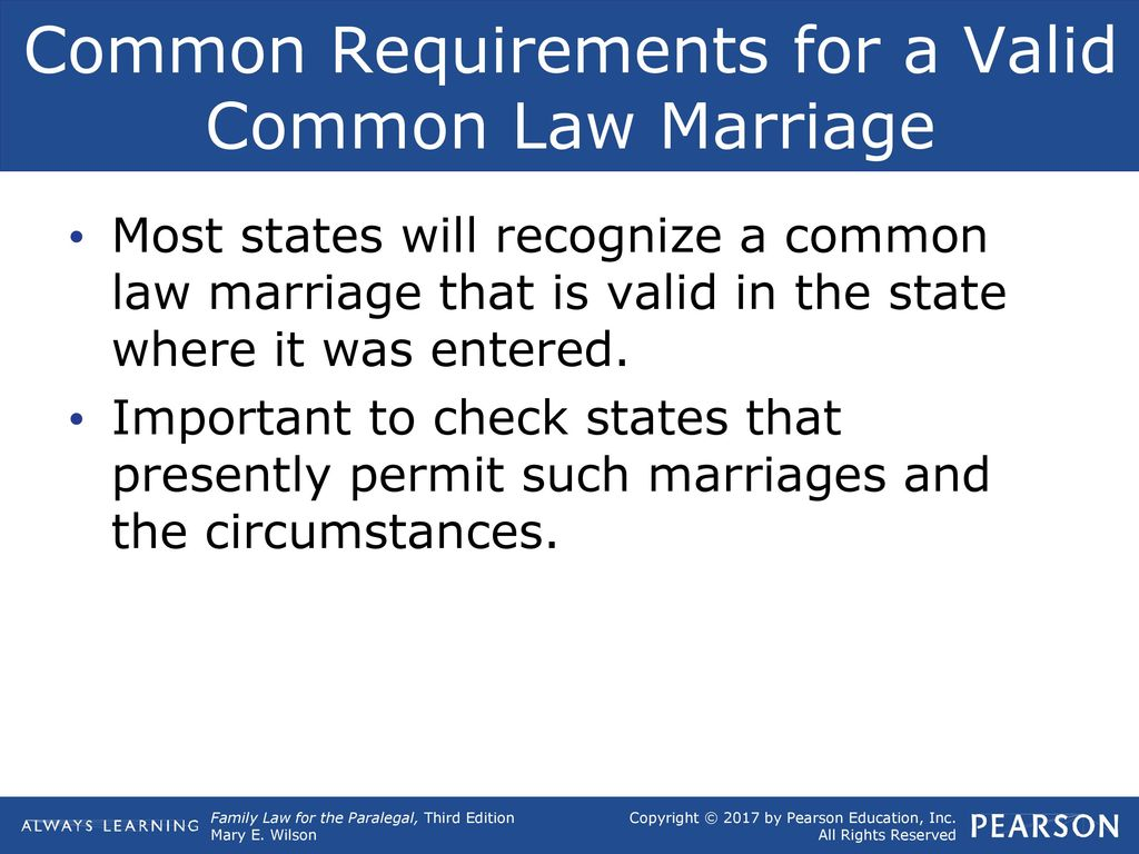 Forum on this topic: Common Law Marriage And the States That , common-law-marriage-and-the-states-that/