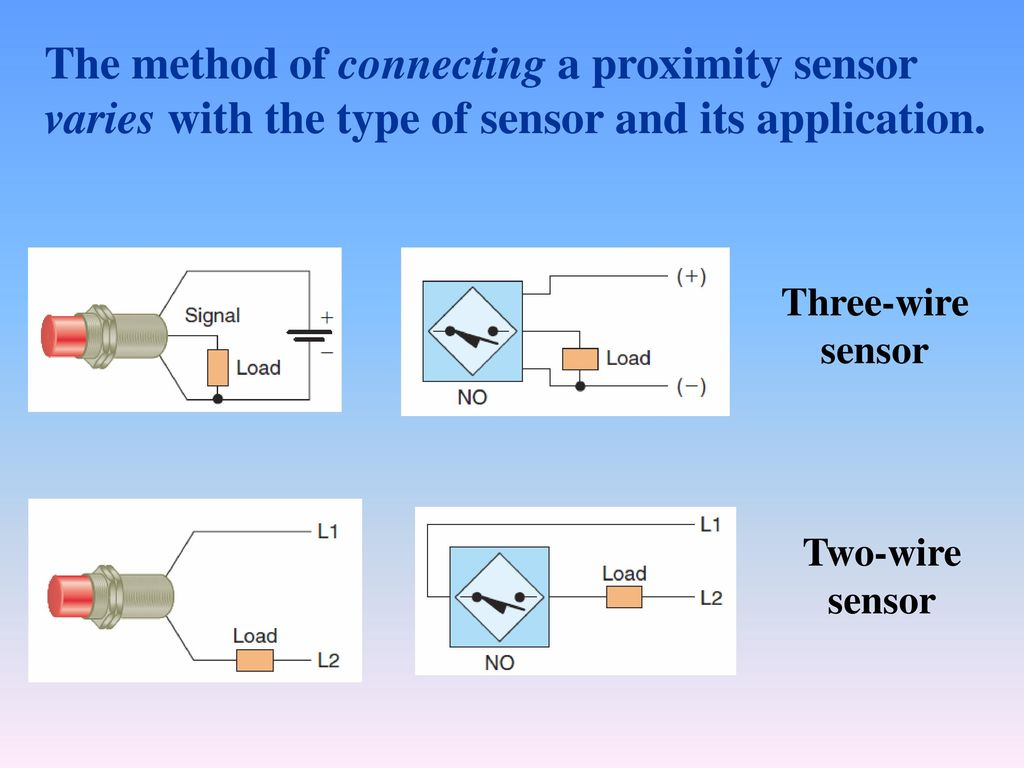 Chapter Ppt Download Two Wire Proximity Switch Wiring Diagram The Method Of Connecting A Sensor Varies With Type And Its Application