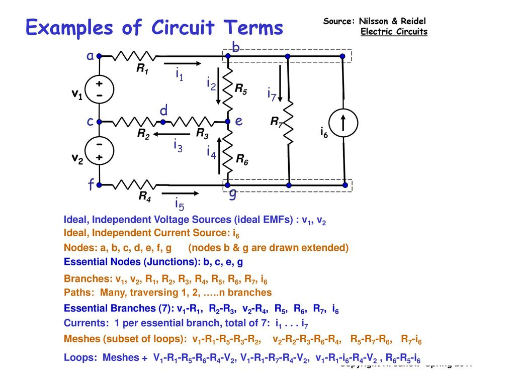 Branch Circuit Definition Physics 100 Free Wiring Diagram Multi Wire Electricity And Magnetism Lecture 08 Loop Rc Rh Slideplayer Com Nec