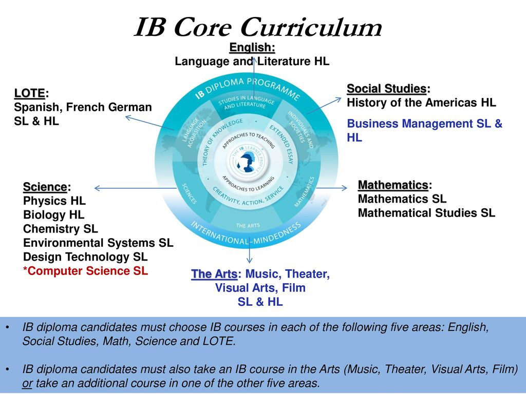 The International Baccalaureate Diploma Program - ppt download