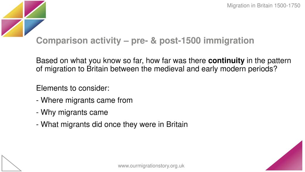 Migration to, from and within Britain - ppt video online