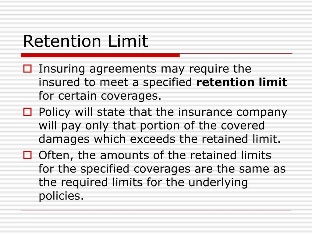 Excess Liability Vs Umbrella Liability Ppt Download